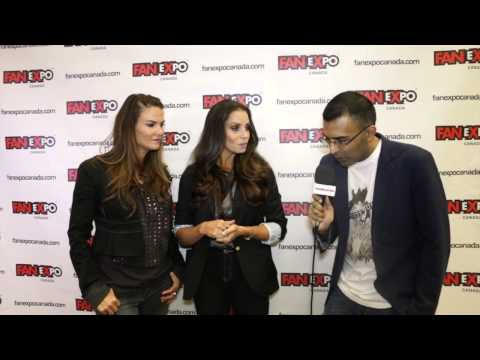 Exclusive Interview With Trish Stratus & Amy 'lita' Dumas At Fan Expo Canada 2014 video