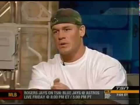 John Cena: Off The Record (Pro Wrestling Interview)