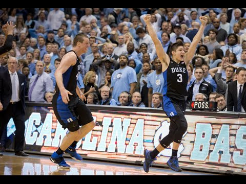 Duke/UNC: Top 10 Finishes
