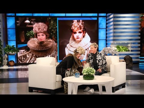 Drew Barrymore Recreates Her Younger Self | drew