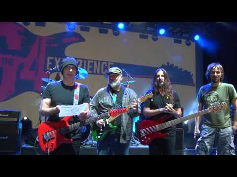 G4 Experience 2015 W  Joe Satriani, Animals As Leaders, The Aristocrats, Mike Keneally & More! video