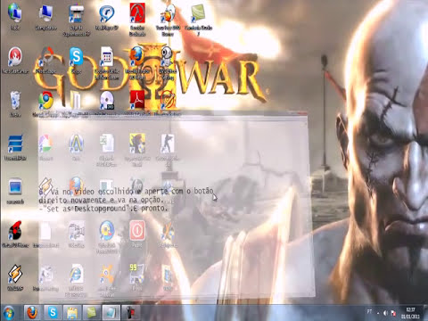 Windows 7 DreamScene, como por video como papel de parede.