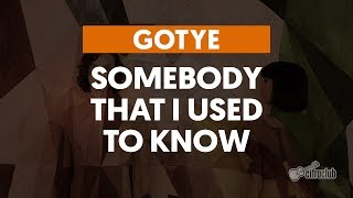 Gotye Somebody That I Used To Know Guitar Lesson How To play with chords cover
