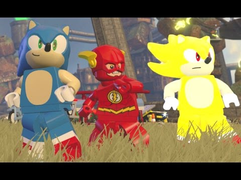 Sonic Vs. Super Sonic - 2 Player Sonic Races & Free Roam / Quests