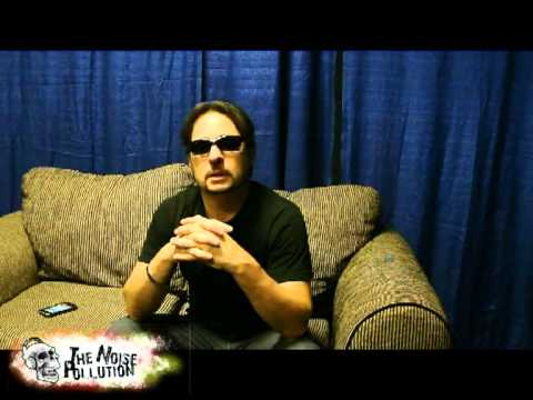 "SLAYER ""INTERVIEW W/DAVE LOMBARDO""@TSONGAS ARENA - LOWELL, MA 8-14-10"
