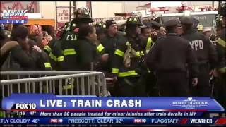 New York Train Crash FULL Coverage