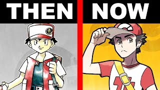 Complete History and Lore of Pokemon Trainer Red