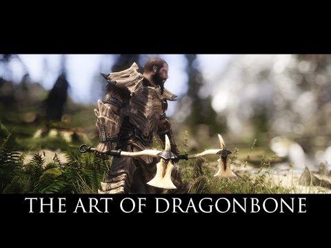 TES V - Skyrim Mods: The Art Of Dragonbone