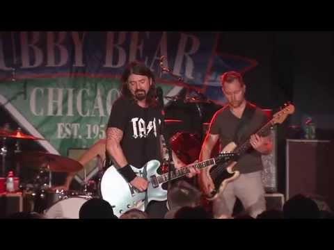 Foo Fighters at The Cubby Bear, Chicago, October 17th, 2014 !! Rock on Foos!!