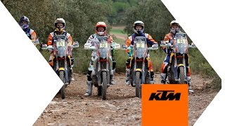 KTM Factory Racing Team prepares for DAKAR 2015