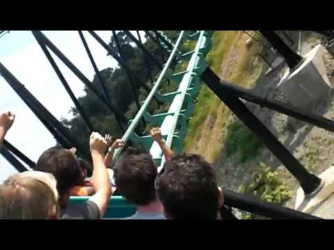 Phantom's Revenge roller coaster  Kennywood Park Pittsburgh. Pa