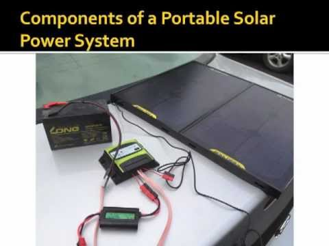 Portable Solar Power - a Primer for the Radio Amateur