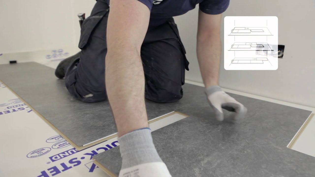 How to install a quick step exquisa laminate floor youtube - Pose quick step uniclic ...
