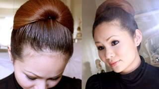 Hair Tutorial: Celebrity Inspired Elegance Updo