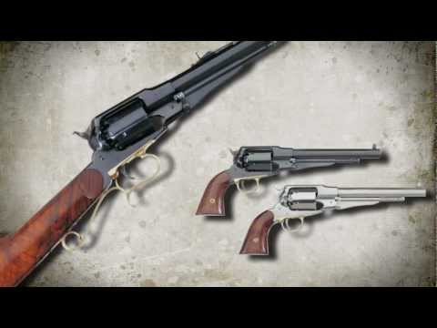 Uberti 1858 New Army and Target Carbine Black Powder Revolvers