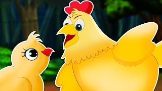 Bangla Cartoon | Wise Little Hen in Bangla | একটি মুরগির ছানার গল্প | Bangla Moral Fairy Story