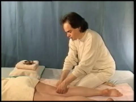 bladder meridian massage: back and legs