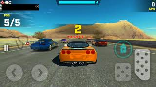 Race Max / Sports Car Racing Games / Yellow Corvette / Android Gameplay FHD #9