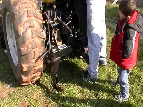 Harbor Freight Quick Hitch Item# 97214 (part II attaching to 3 point on tractor)