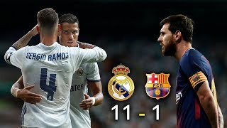 Real Madrid 11 - 1 Barcelona FC - Parodia - El Clásico - Video Bloqueado solucionado