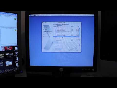 PowerMac G4 Upgrade: Installing Tiger (Part 2)