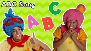 ABC Song + More | Mother Goose Club Nursery Rhymes