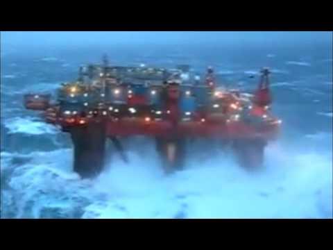 La fuerza del mar en Campeche