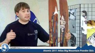 Atomic 2011 Atlas Big Mountain Powder Skis