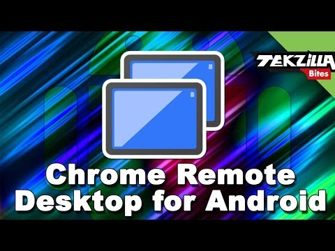 Chrome Remote Desktop for Android! Control PCs from your Android Phone or Tablet