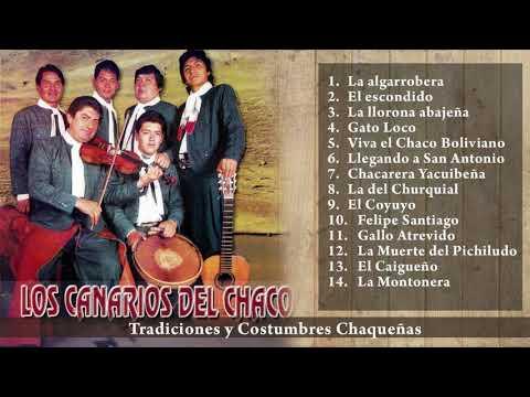MÚSICA BOLIVIANA - LOS CANARIOS DEL CHACO - ÉXITOS VOL.  1