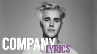[HD] Justin Bieber - Company (Lyric Video)