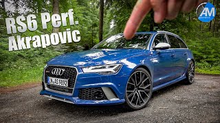Audi RS6 Performance (605hp) - pure SOUND!💥