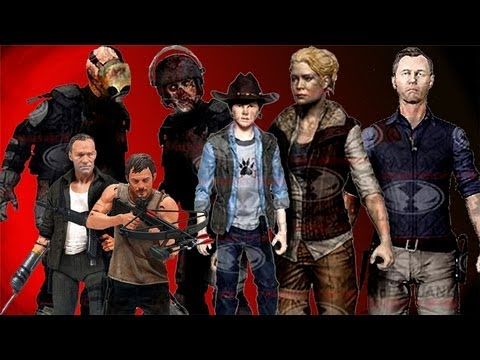 The Walking Dead Series 4 Action Figures Preview