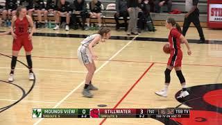 High School Girls Basketball: Mounds View vs. Stillwater