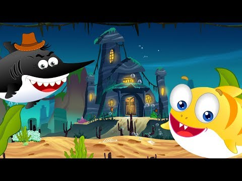 Halloween Flying Shark trapped baby Shark | Kids Cartoon Songs & Rhyme