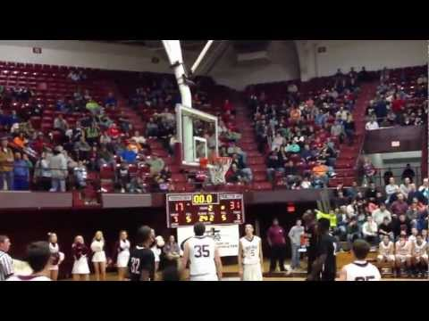 Princeton Day Academy vs. Tennessee High Half-time Buzzer Beater