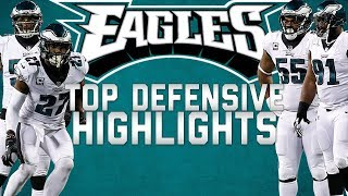 Download Lagu Philadelphia Eagles Top Defensive Highlights from the 2017 Season 🦅  | NFL Highlights Gratis STAFABAND