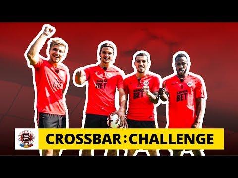 Crossbar Challenge na Spartě: Nico a spol. vs. břevno