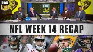Week 14: Ravens' creative offense, Garoppolo's big moment, and Vikings heating up | FOX NFL