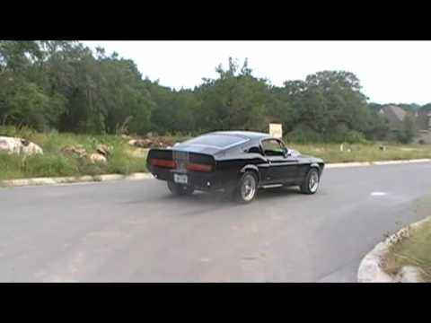 Shelby GT500E Super snake Sound & Small Burnout