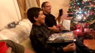 My nephew finally gets a Wii U and its a Christmas Fail