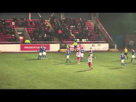 Long range free-kick fires Stranraer to top spot