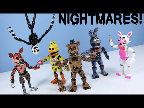 Five Nights at Freddy's Nightmare Action Figures Funko with Nightmarionne