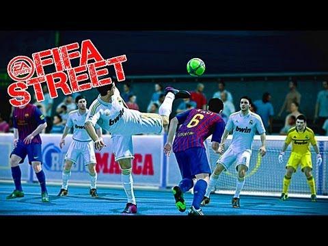 Вечерний FIFA STREET с КРЕАТИВОМ
