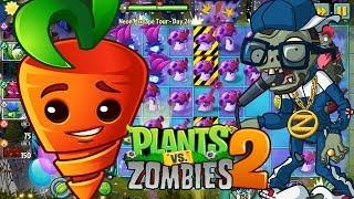 ✔️Intensive Carrot $$ Cà Rốt Hồi Sinh | Plants Vs Zombies 2 | Hoa Quả Nổi Giận 2