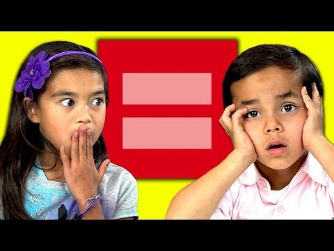 Kids React To Gay Marriage video