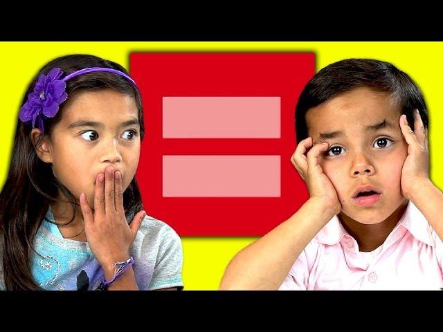 Kids React to Gay Marriage thumbnail