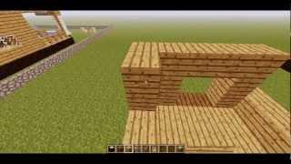Como hacer una casa de madera en Minecraft [1/3]