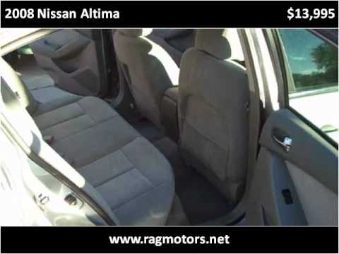 2008 Nissan Altima available from RAG Motors