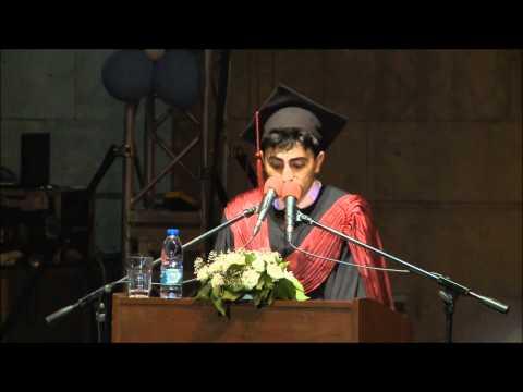 Ege Tıp 2012 mezuniyet töreni-Efsane Mezuniyet Konuşması